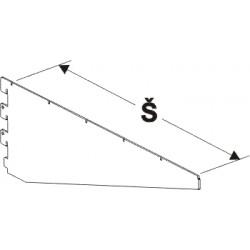 konzola těžká, šířka 60cm