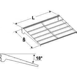 nosič přepravek, délka 100cm, šířka 60cm