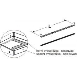 dvoudrážky, délka 100cm