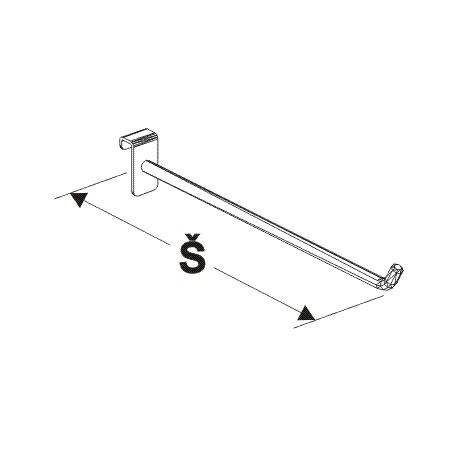 rameno jednoduché, šířka 50cm