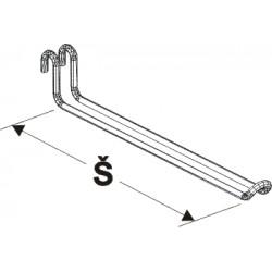 rameno dvojité, šířka 30cm