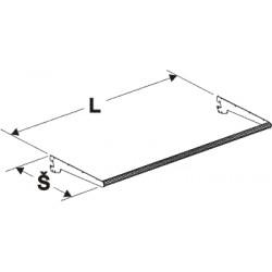 konfekční tyč, délka 100cm, šířka 35cm