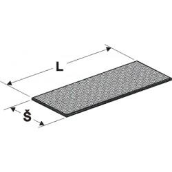 proutěné plato, délka 100cm, šířka 40cm