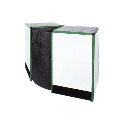 Pult lomený s plnou deskou